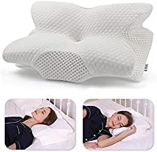 Coisum Back Sleeper Cervical Pillow - Memory Foam Pillow for Neck and Shoulder Pain Relief - Orthopedic Contour Ergonomic Pillow for Neck Support