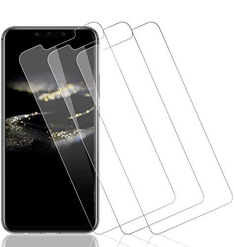 Wiestoung Protecteur d'écran en Verre Trempé pour Huawei Mate 20 Lite, [3 Pièces] [Anti-Rayures] [sans Bulles] [2.5D Bord] Film Protection écran Vitre Transparent HD pour Huawei Mate 20 Lite