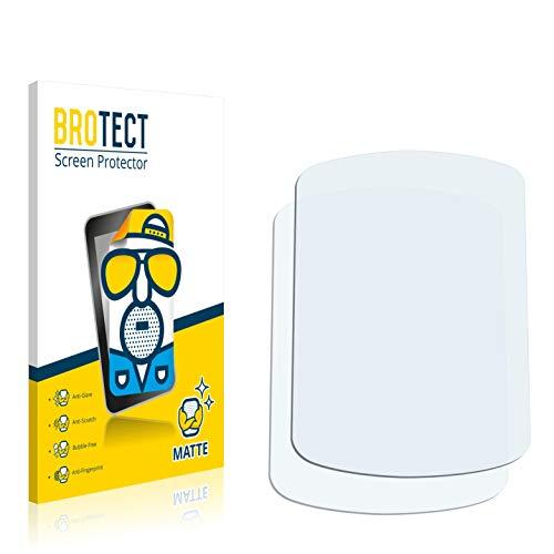 BROTECT Protector Pantalla Anti-Reflejos Compatible con Garmin eTrex Venture HC (2 Unidades) Pelicula Mate Anti-Huellas