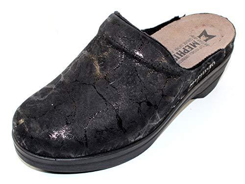 Mephisto Women's Slide Sandal, Black, 9
