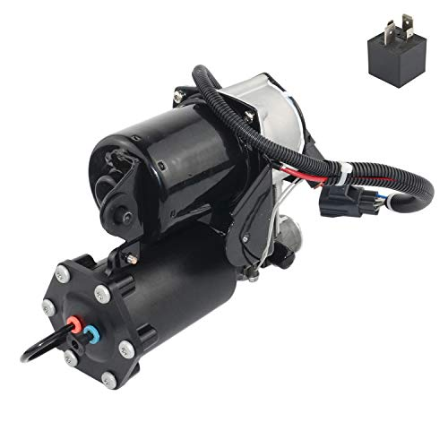 AKWH Hitachi Style Air Suspension Compressor Pump with Relay LR023964 for Range Rover Sport Discovery 3&4