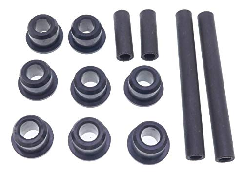 YIQI Golf Cart Control Arm Bushing Kit for Club Car Precedent 2004-UP Front or Rear Leaf Spring & Front Upper A Arm Suspension