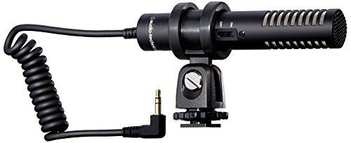 Audio-Technica PRO24-CM(inklusive Fellwindschutz) Camcorder Stereo Kondensatormikrofon Video Mikrofon