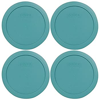 Pyrex 7201-PC Round 4 Cup Storage Lid for Glass Bowls  4 Turquoise