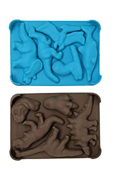 Win&Co Dinosaur Chocolate Molds (Set of 2)