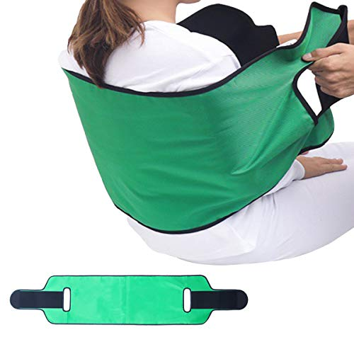 Kangwell Bed Transfer Sling | Transfer Belt Medical Nursing Safety Gait Patient Assist, Patient Lifting Device for Body Turning, Sliding, Moving-Family Aid for Bedridden, Elderly, Pediatric