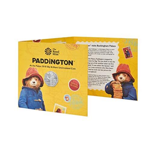 Paddington at Buckingham Palace 2018 UK 50p Brilliant Uncirculated Coin