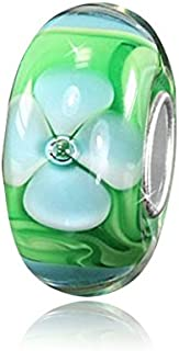 6301c9cc5d6f Amazon.es: cristal murano - Abalorios / Charms: Joyería