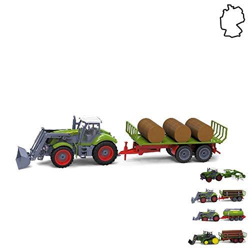 HSP Himoto XXL - Tractor teledirigido con remolque, granja