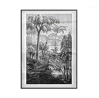 キャンバスプリントポスター絵画 - 木、風景、森 - キャンバスのプリント