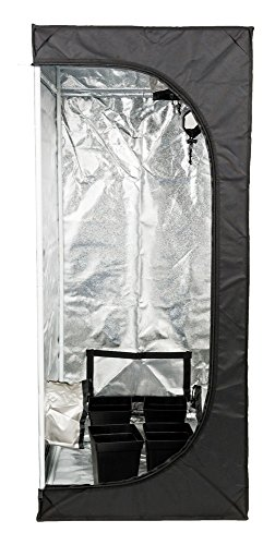 SENUA Hydroponic Grow Tent 50 x 50 x 100cm