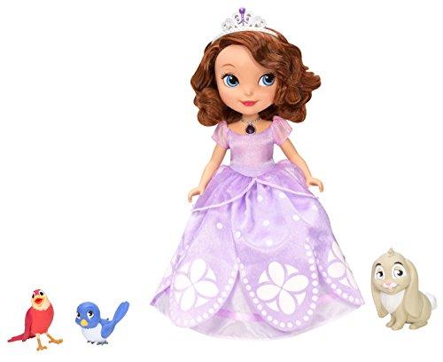 Disney Sofia die Erste sprechende Sofia Puppe mit Freunden (Englische Sprache) [UK Import]