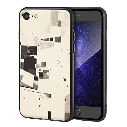 Berkin Arts Kurt Schwitters Custodia per iPhone SE(2020)/iPhone 7/8/per Cellulare Arti/Stampa giclée a UV sulla Cover del Telefono(Plato De Merz 5)