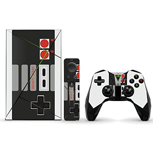MightySkins Skin Compatible with NVIDIA Shield TV (2017) wrap Cover Sticker Skins Retro Gamer 3