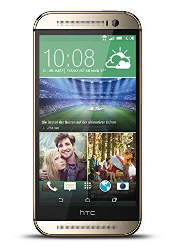 HTC One M8 Smartphone (5 Zoll (12,7 cm) Touch-Bildschirm, 16 GB Speicher, Android 4.4.2) gold (Generalüberholt)