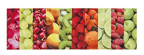 ASTRA Miabella Küchenmatte Obst bunt Fussmatte Eingangsmatte Türmatte Schmutzfangmatte Wohnraummatte