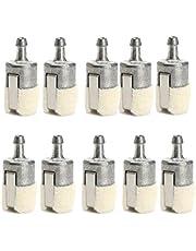 SGerste 10 filtros de combustible de repuesto para motosierras Homelite Echo Husqvarna Stihl Pouland