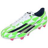 adidas F5 FG M17670 Botas de fútbol para Hombre, Hombre, Botas de fútbol, M17670, Verde Blanco Negro Rosa, Size UK 9.5