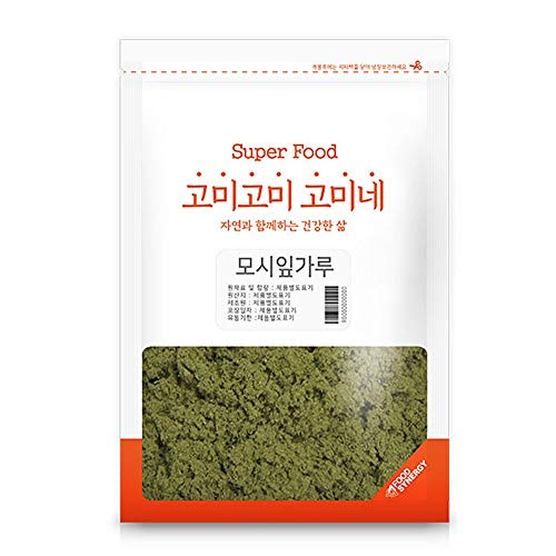 Gomine Korean Ramie Leaf Powder, 300g, Ready to Eat, Rich Fiber, 모시잎가루