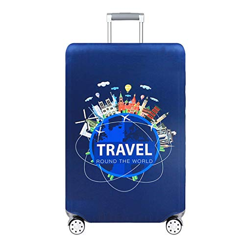 OLMITA High Qualit Luggage Cover Travel Elasticity Travel Luggage Dust Cover Protective Suitcase Cover Trolley Case Apply To 18-32 In,M