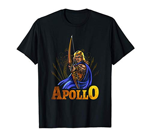 Apollo Ancient Greek Mythology Gods and Monsters T-Shirt