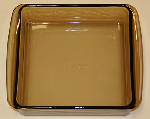 Corning Pyrex Amber Square Baking Dish - #222