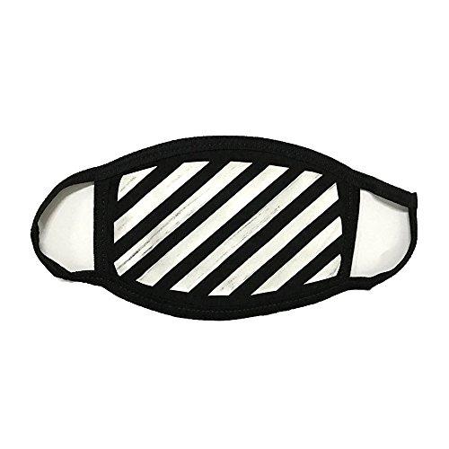 Off White Respirator Face Mask Black Industrial Ow Diagonal Arrows Streetwear Hype Facemask, Small