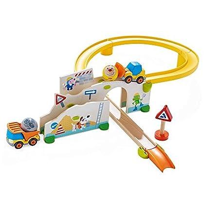 Kugelbahn Kullerbü - Spielbahn auf der Baustelle