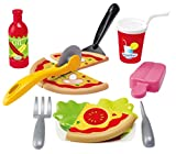 Jouets Ecoiffier – 2589 - Set Pizza 100 % Chef – Imitations d'aliments...