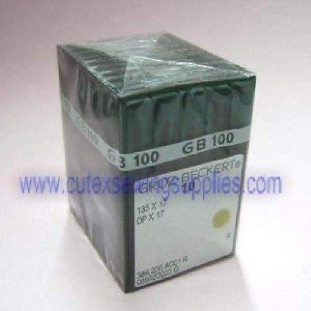 100 Groz-Beckert 135X17 DPX17 SY3355 Industrial Walking Foot Machine Needles (Size 125 / 20)
