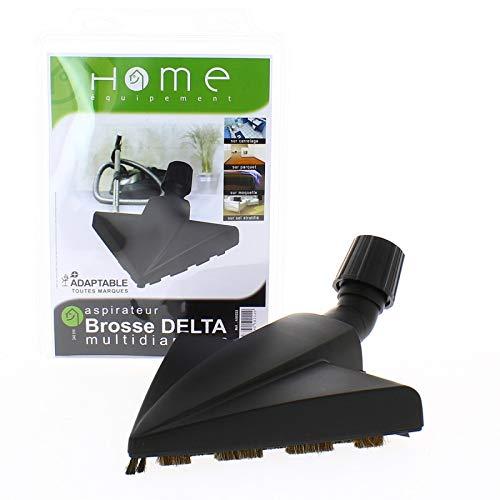 Brosse delta universelle pour aspirateur, multidiamètre