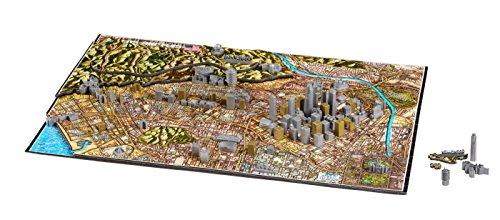 4D Cityscape Los Angeles Time Puzzle (800 Piece)
