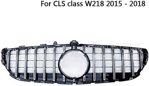 XDHN Gt R Gtr Kühlergrill für Mercedes Cls Klasse W218 Facelift CLS300 CLS350 CLS450 CLS500 2015–2018 Silber
