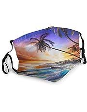 longdai Strandgolven, gezichtsmaskers, wasbaar, herbruikbare veiligheidsmaskers, bescherming tegen stof, stuifmeel, huidschilfers van huisdieren, andere lucht