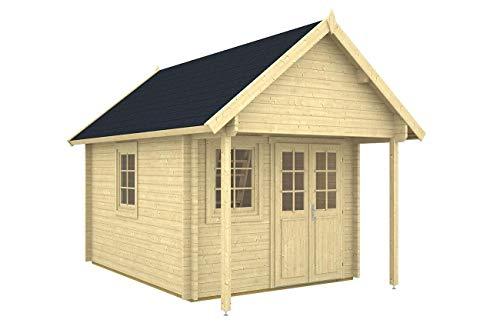 Gartenhaus mit Schlafboden BUNKIE 40 + Schlafboden...