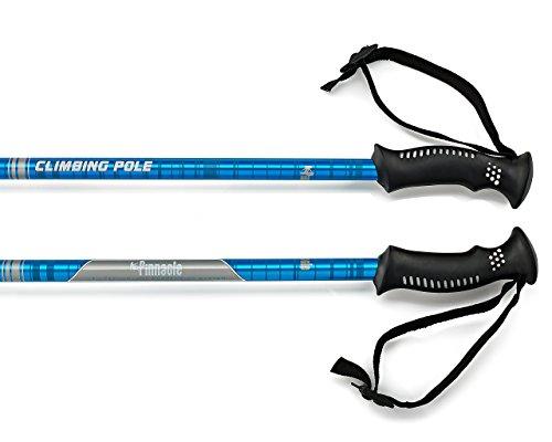 Pinnacle Hiking Poles - Best Trekking Hiking Nordic Trail Walking Telescoping Collapsible Ultra Light weight Pair Trek Sticks Walking Anti shock Poles for Men | Women