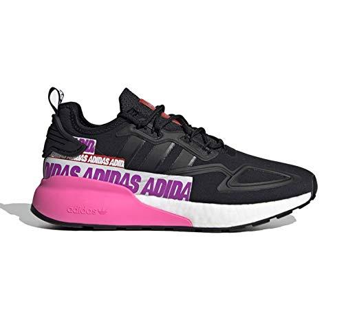 adidas ZX 2K Boost W, Zapatillas Deportivas Mujer, Core Black Core Black FTWR White, 40 EU