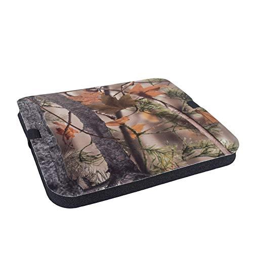 Savlot Picknickmatte, Dickes Sitzkissen Camouflage Schaumstoffmatte Sitzkissen mit verstellbarem Riemen Outdoor Jagd Camping Sitzkissen