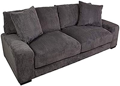 Amazon.com: Baja Convert-a-couch and Sofa Bed, Black ...