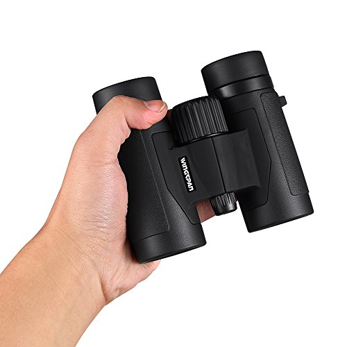Product Image 1: Wingspan Optics FieldView 8X32 Compact Binoculars for Bird Watching. Lightweight and Compact for Hours of Bright, Clear Bird Watching. Also for Outdoor Sports Games and Concerts