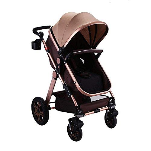 BuoQua 2in1 Baby Stroller Portable Baby Carriage Stroller...