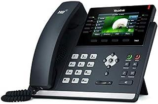 Yealink SIP-T46S IP Phone, 16 Lines. 4.3-Inch Color Display. Dual-Port Gigabit Ethernet, 802.3af PoE, Power Adapter Not In...
