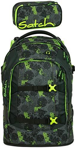 Satch Pack Off Road 2er Set Schulrucksack & Schlamperbox