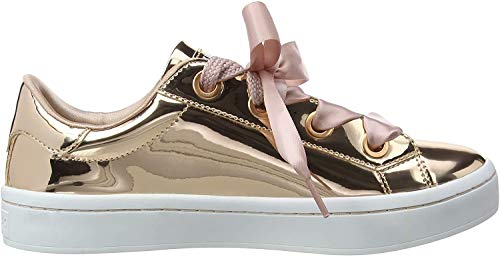 Skechers Damen Hi Lite - Liquid Bling Sneaker, Gold (Rose Gold), 41 EU