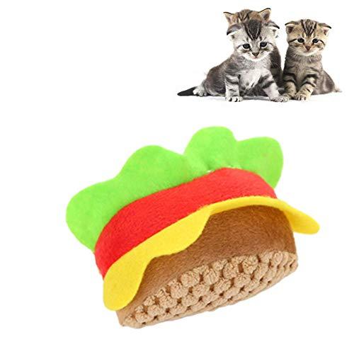 huahuajia Interactivo De Felpa para Perros Y Gatos Juguetes para Gatos Interactivos para Gatos Gato Cosas para Gatos Rueda Ejercicios Cosas De Gatos
