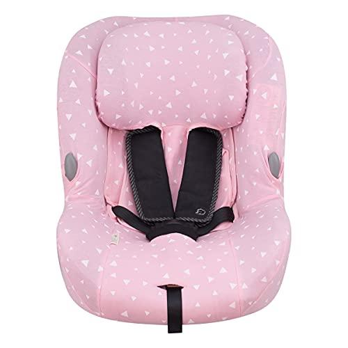 JANABEBE Funda para Bebe Confort MiloFix (Pink Sparkles)