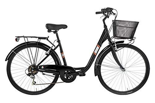 Alpina Bike Venere, Bicicletta Donna, Nero, 26'