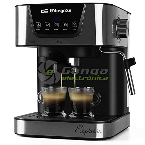 Orbegozo Cafetera Espresso EX 6000, 20 Bar, 1050 W