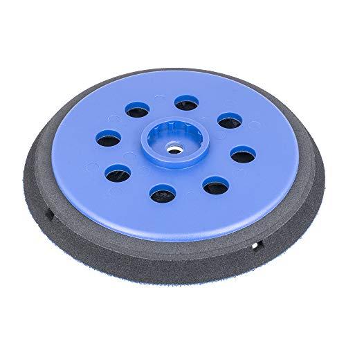 Schleifteller 150mm Klett für Bosch GEX 150 AC, GEX 150 Turbo Professional, GEX 125-150 AVE - Multi-Loch (15-Loch) - mittelhart - DFS