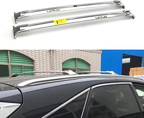 BUSUANZI Conjunto de Barras transversales para portaequipajes de Techo de Coche Apto para Lexus RX RX350 RX450 2016-2019, baranda de Aluminio, portaequipajes, Accesorios de Viaje